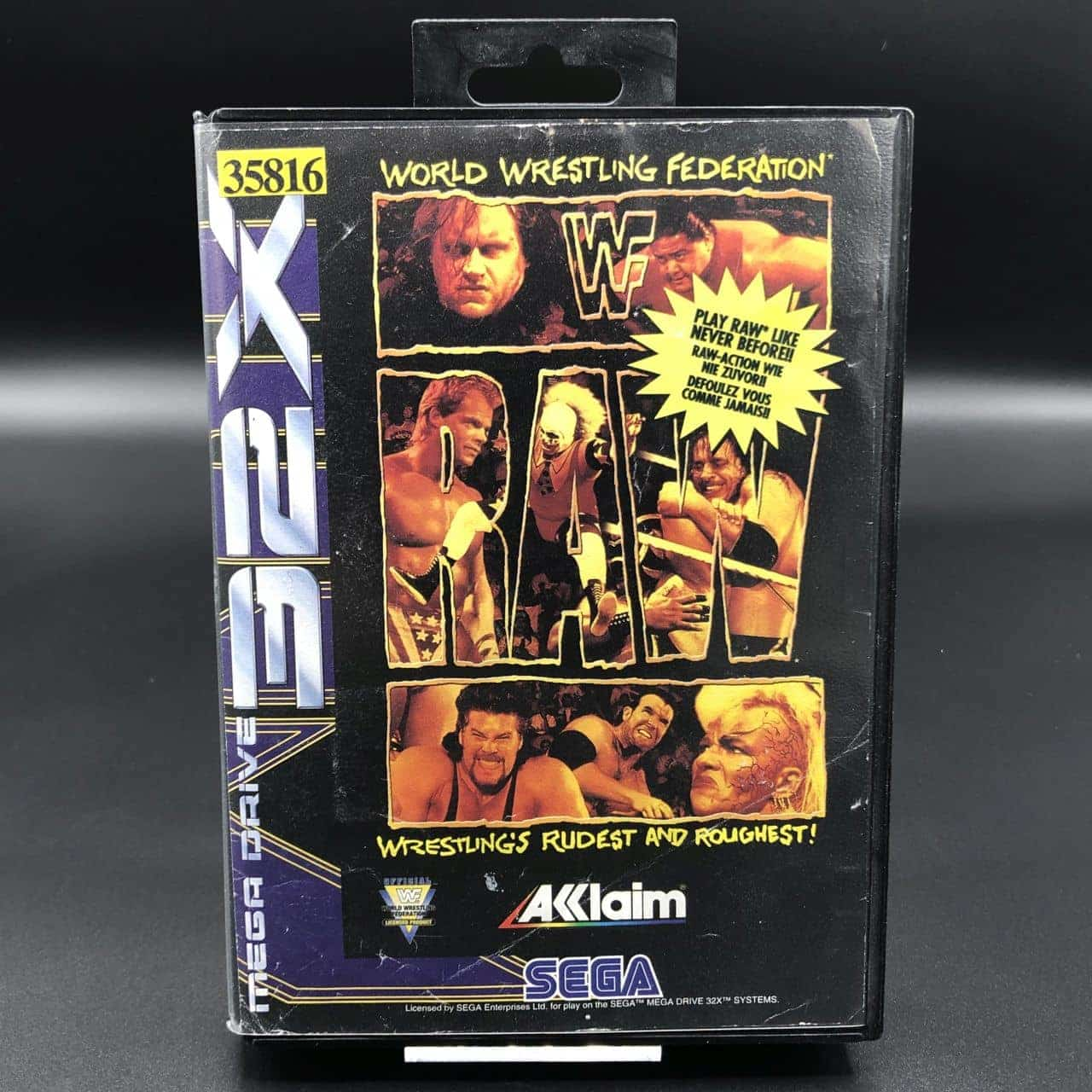 WWF Raw (Komplett) (Gut) Sega 32X