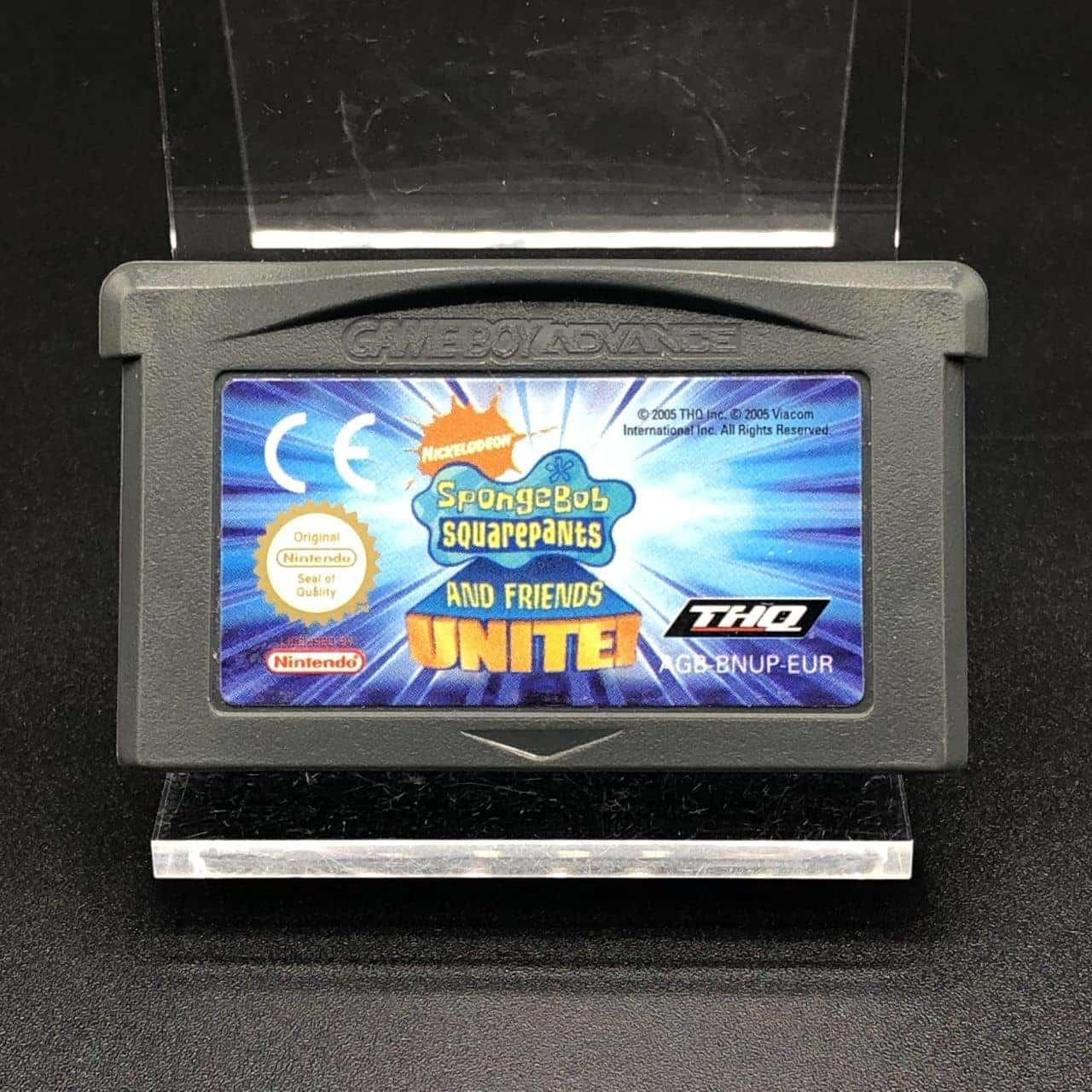 GBA SpongeBob SquarePants and Friends Unite! (Modul) (Sehr gut) Nintendo Game Boy Advance
