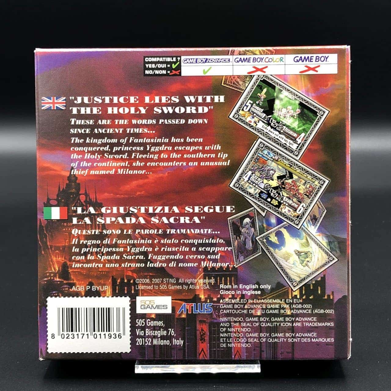 GBA Yggdra Union: We'll Never Fight Alone (Komplett) (Sehr gut) Game Boy Advance