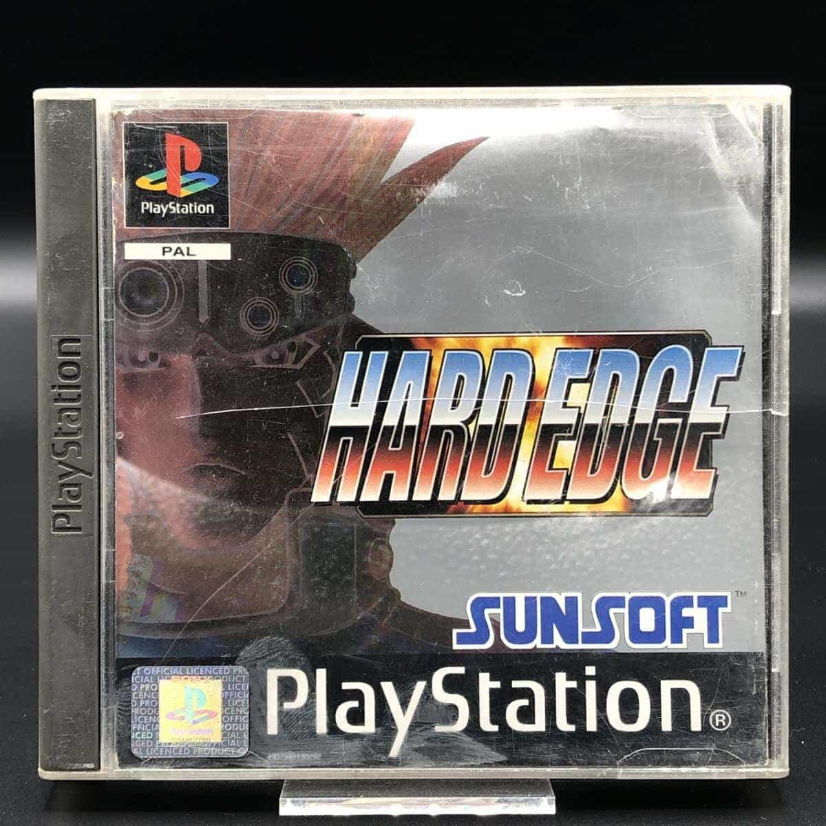 PS1 Hard Edge (Komplett) (Gebrauchsspuren) Sony PlayStation 1