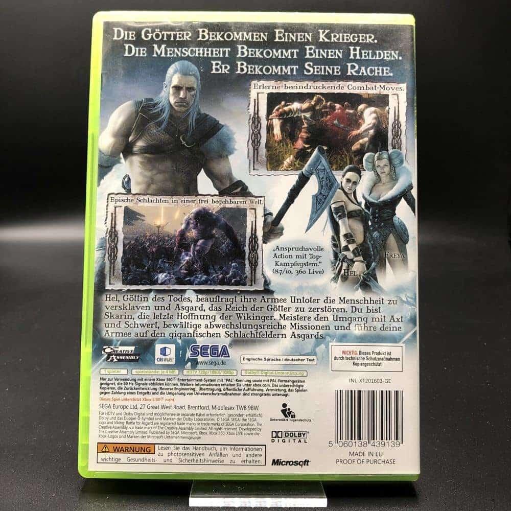 Viking: Battle for Asgard (Komplett) (Sehr gut) XBOX 360 (FSK18)