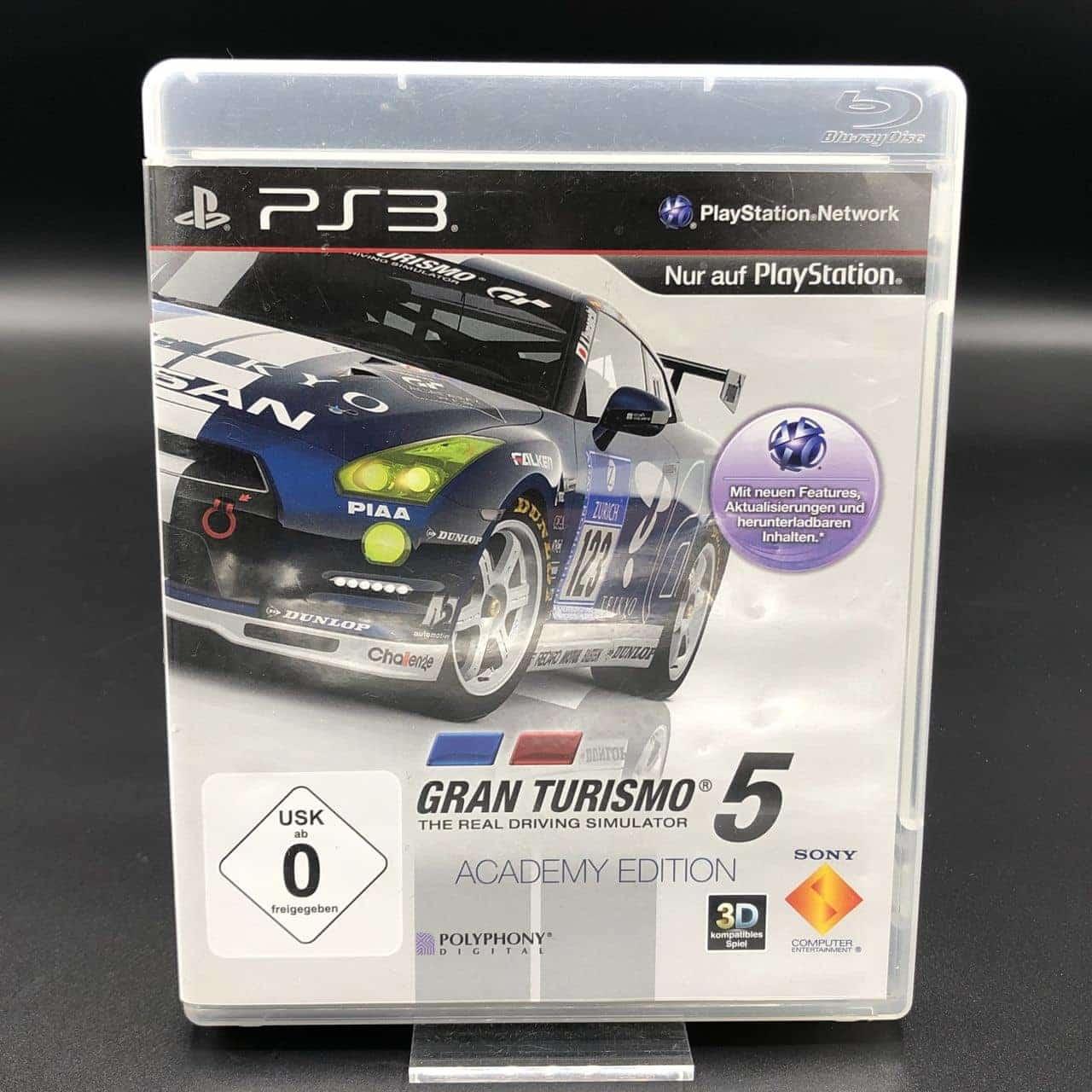 PS3 Gran Turismo 5 (Academy Edition) (Komplett) (Sehr gut) Sony PlayStation 3
