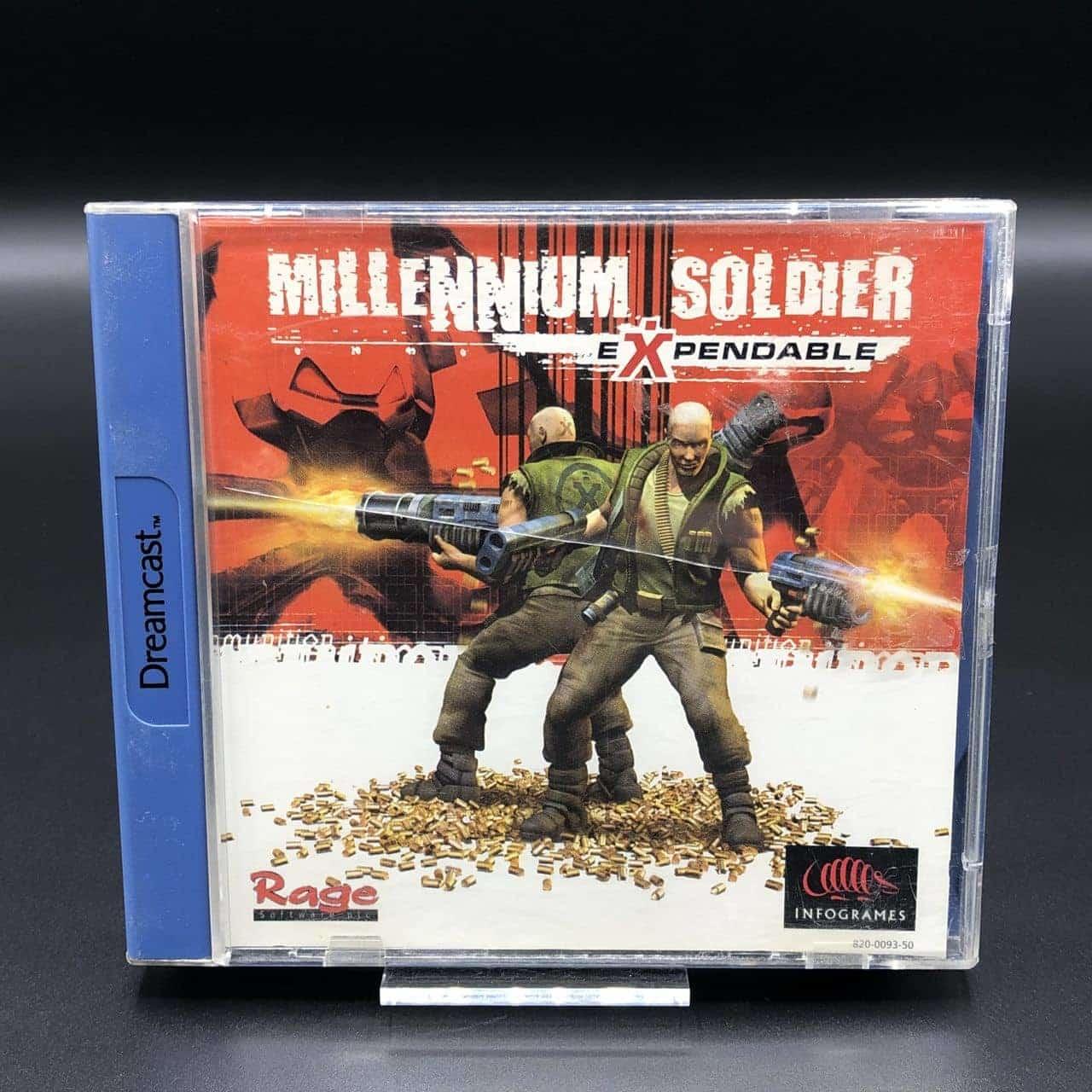 Millenium Soldier - Expendable (Komplett) (Gut) Sega Dreamcast