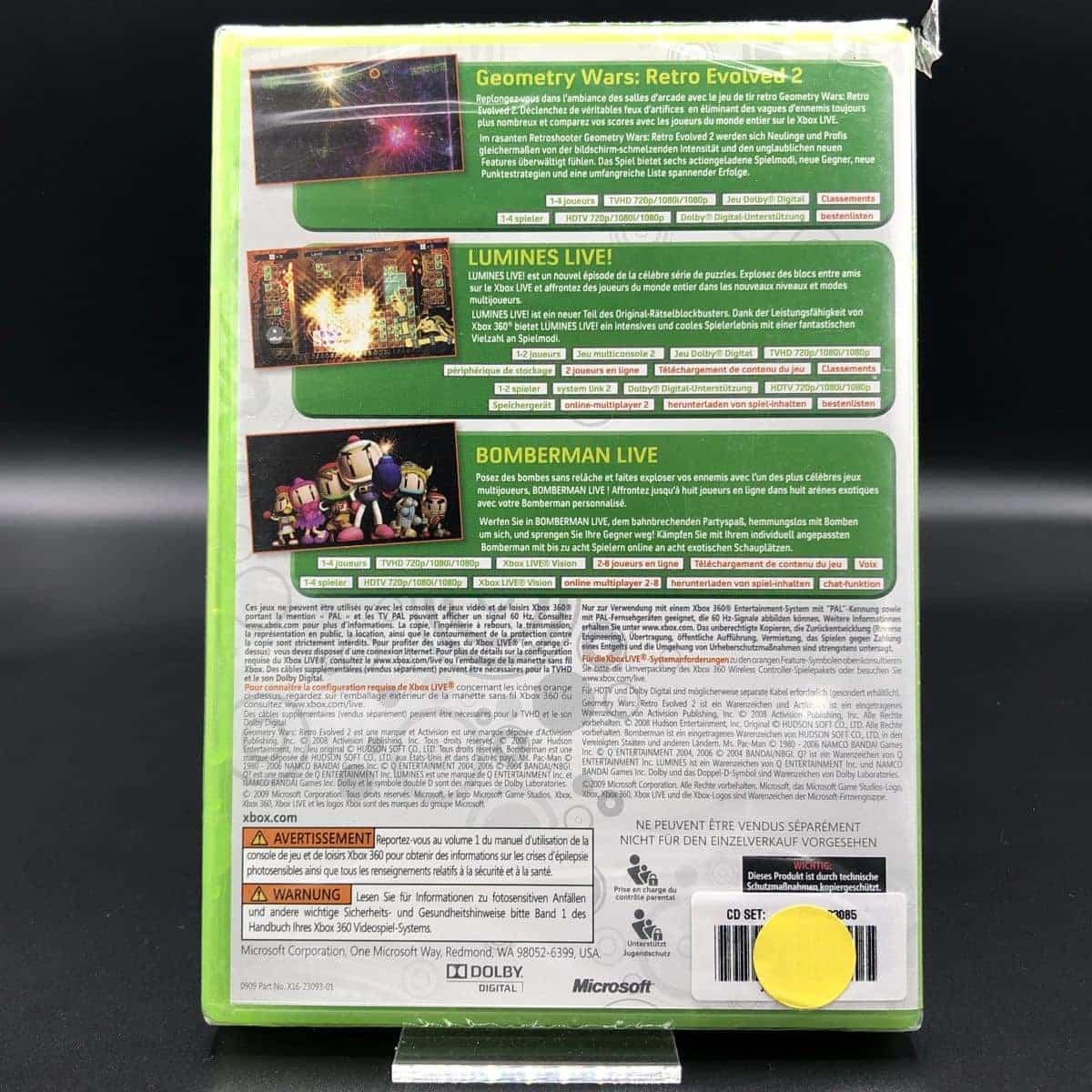 Xbox Live Arcade Game Pack (NEU) XBOX 360