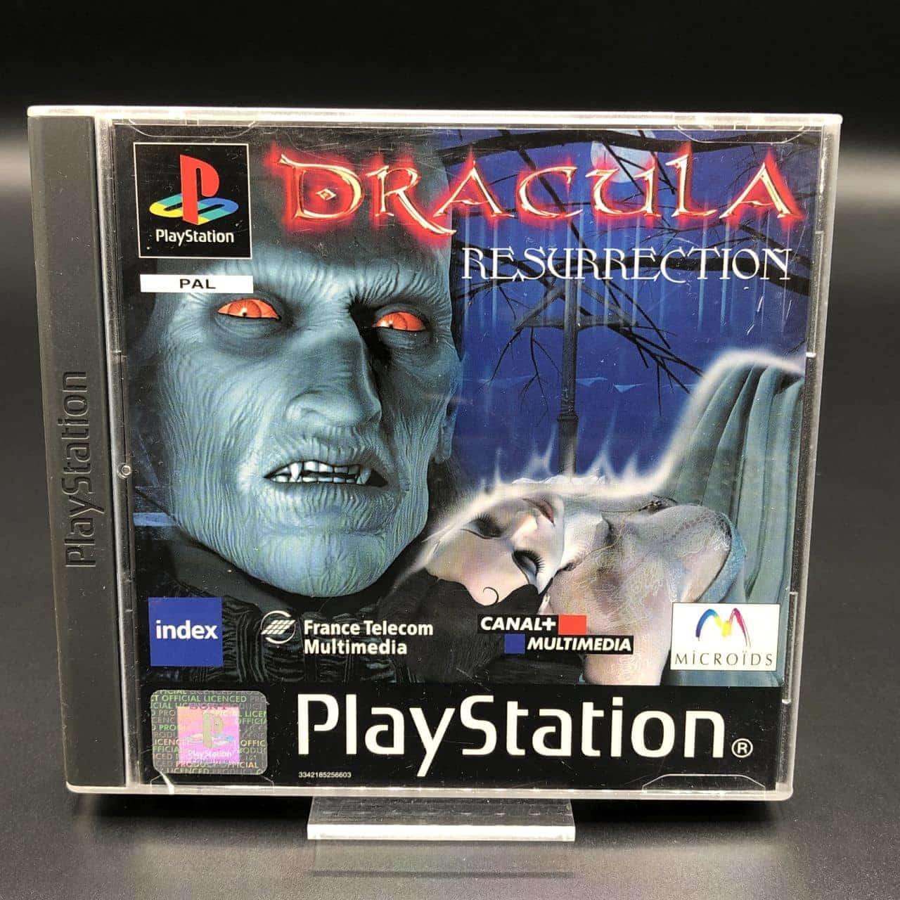 PS1 Dracula: Resurrection (Komplett) (Sehr gut) Sony PlayStation 1