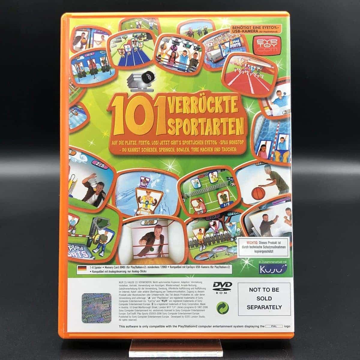 PS2 EyeToy Play: Sports (Komplett) (Sehr gut) Sony PlayStation 2