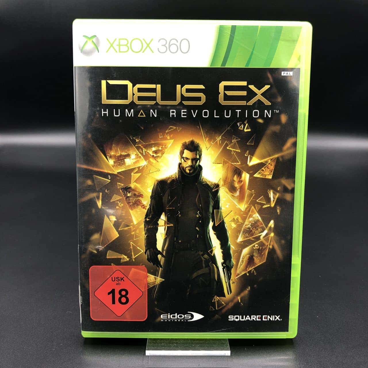 Deus Ex: Human Revolution (Komplett) (Sehr gut) Xbox 360 (FSK18)