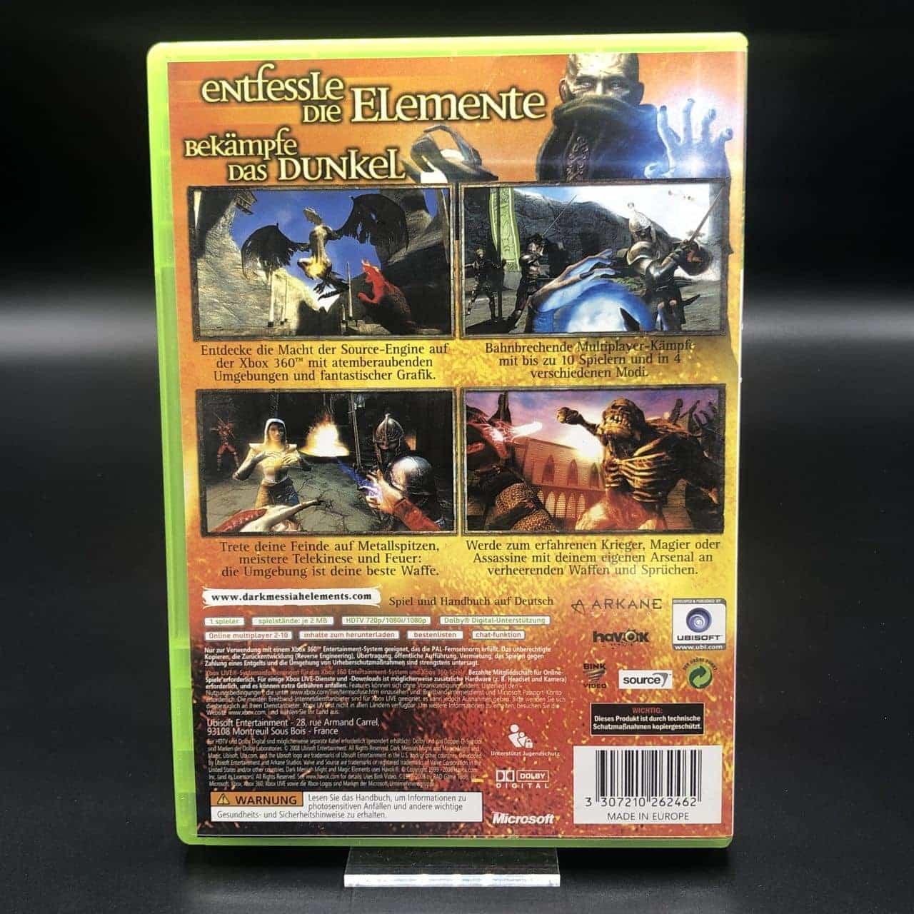 Dark Messiah of Might and Magic: Elements (Komplett) (Sehr gut) XBOX 360 (FSK18)