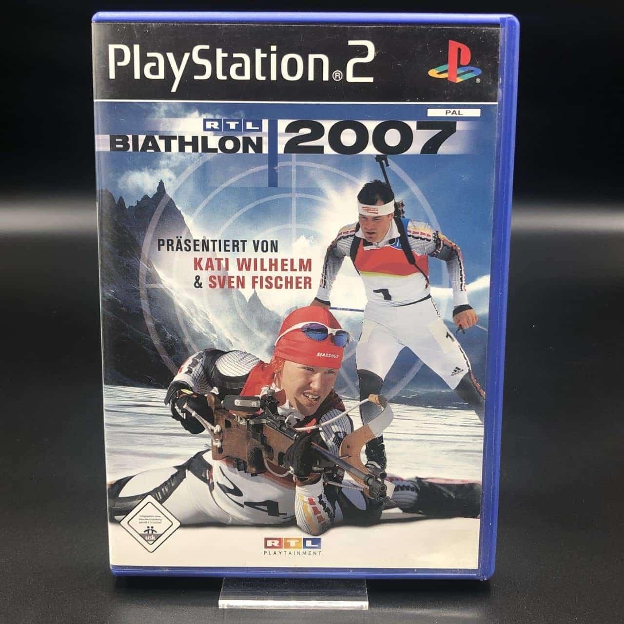 PS2 RTL Biathlon 2007 (Komplett) (Sehr gut) Sony PlayStation 2