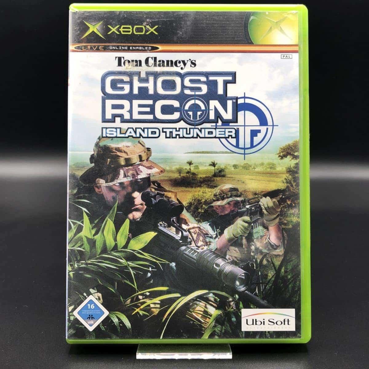 XBC Tom Clancy's Ghost Recon: Island Thunder (Komplett) (Sehr gut) Microsoft Xbox Classic