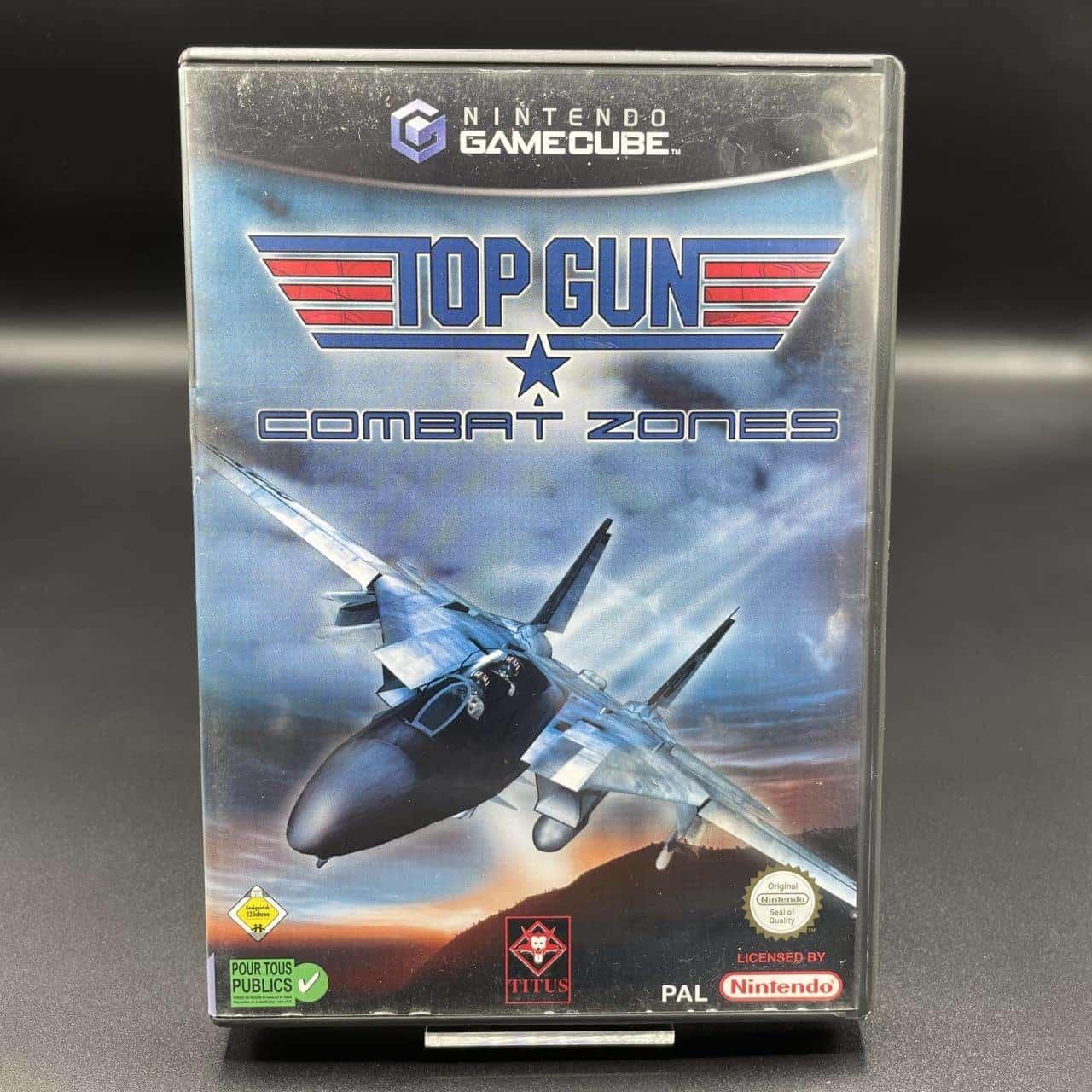GC Top Gun: Combat Zones (Komplett) (Sehr gut) Nintendo GameCube