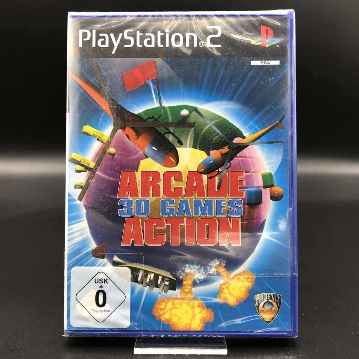PS2 Arcade Action: 30 Games (NEU) Sony PlayStation 2