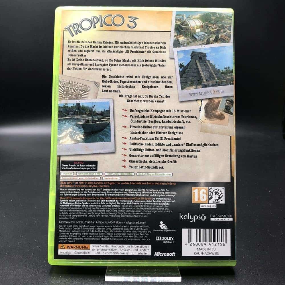Tropico 3 (Komplett) (Sehr gut) XBOX 360