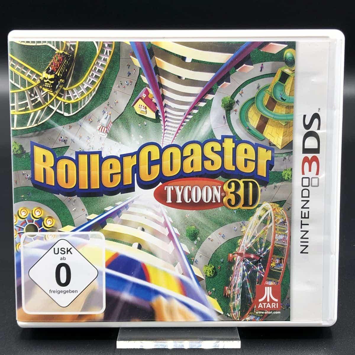Roller Coaster Tycoon 3D (Komplett) (Sehr gut) Nintendo 3DS