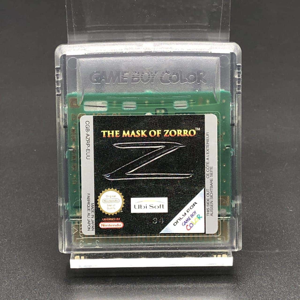 GBC The Mask of Zorro (Modul) (Sehr gut) Nintendo Game Boy Color