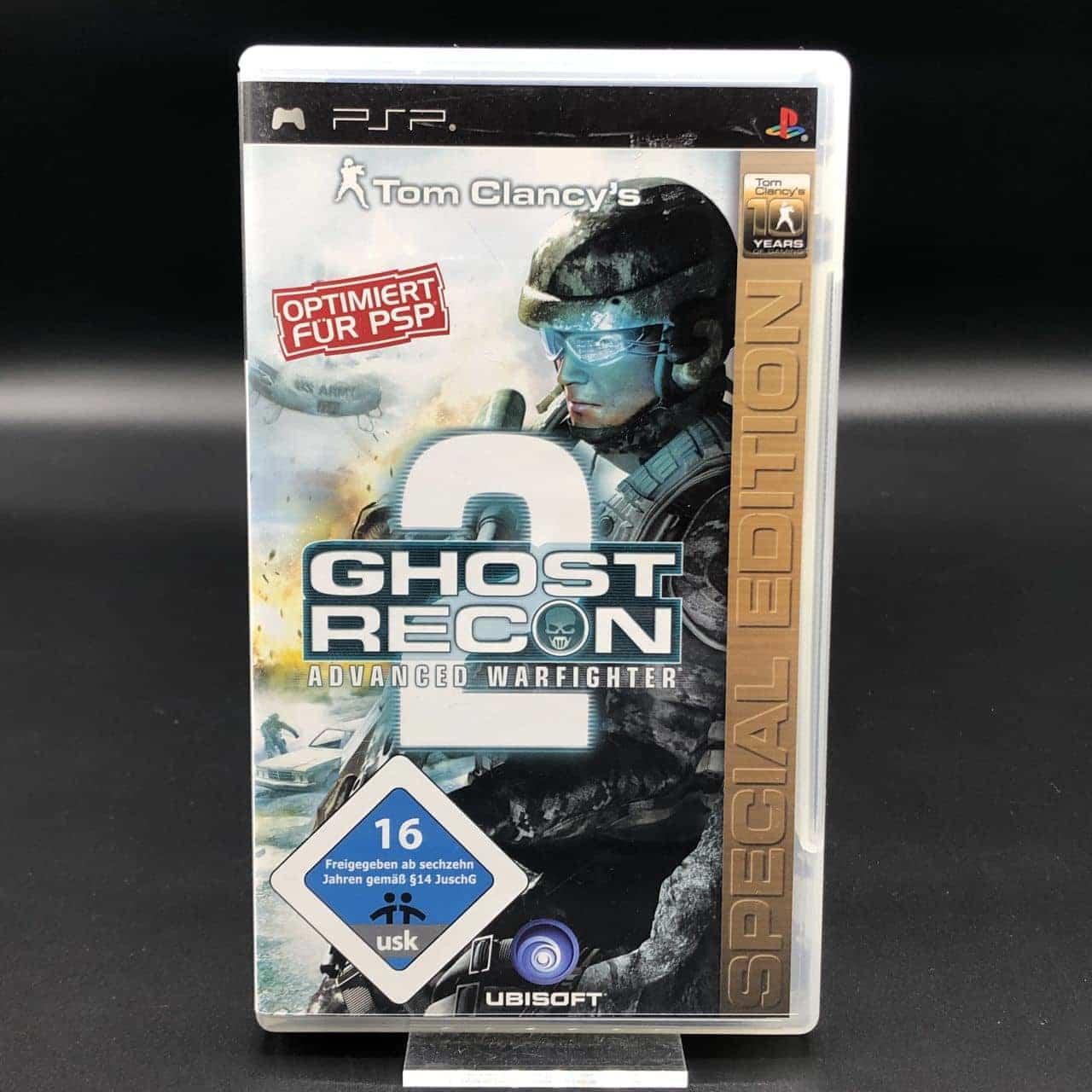 PSP Tom Clancy's Ghost Recon Advanced Warfighter 2 (Special Edition) (Komplett) (Gut)