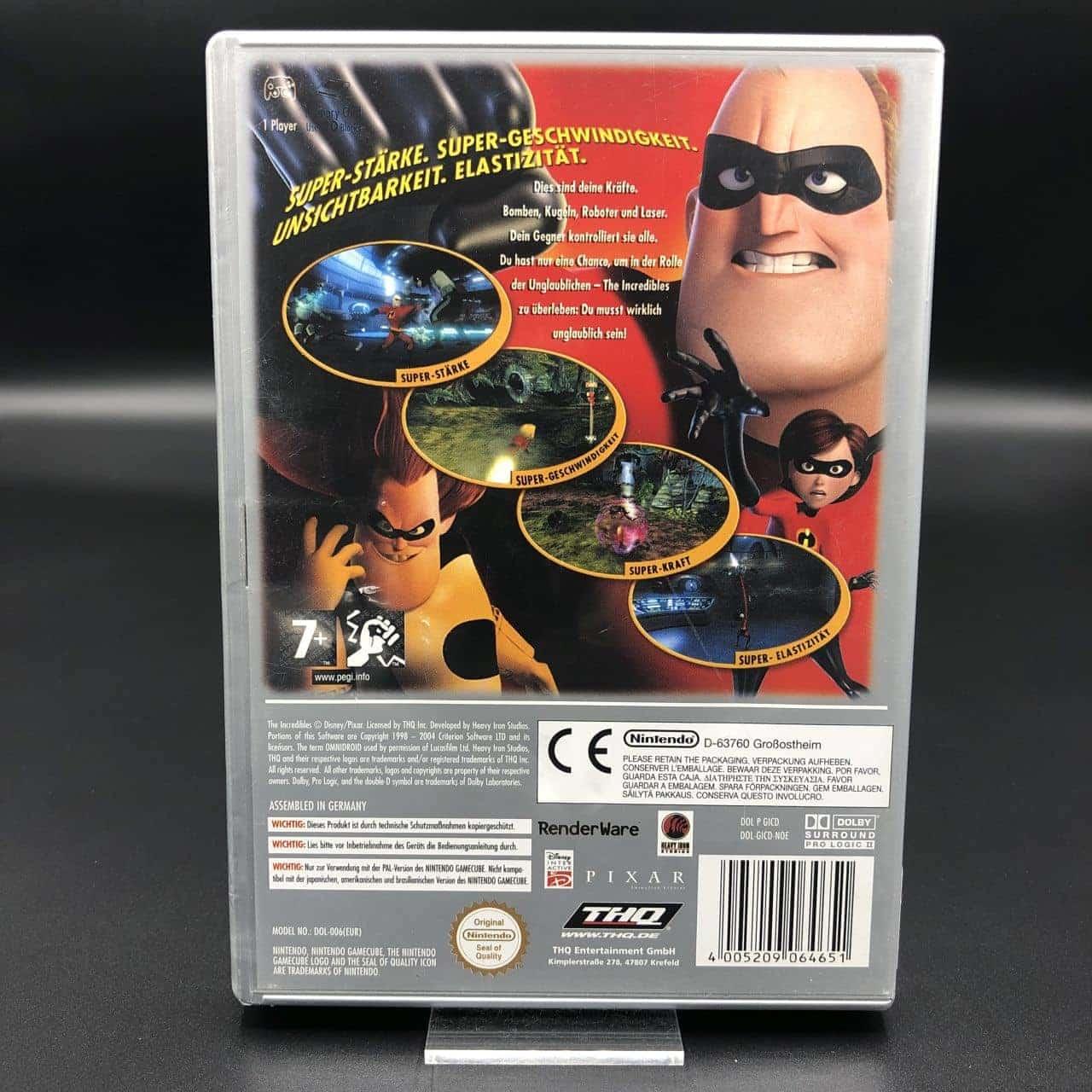GC Die Unglaublichen (Player's Choice) (Komplett) (Gut) Nintendo GameCube