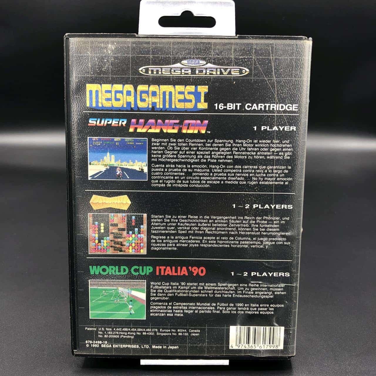 Mega Games 1 (ohne Anleitung) (Gut) Sega Mega Drive