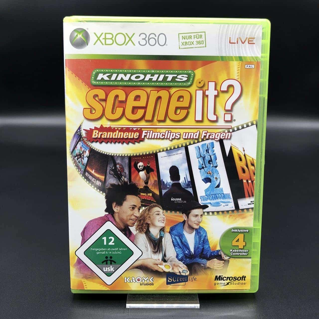 Scene It? Kinohits (Komplett) (Sehr gut) Xbox 360