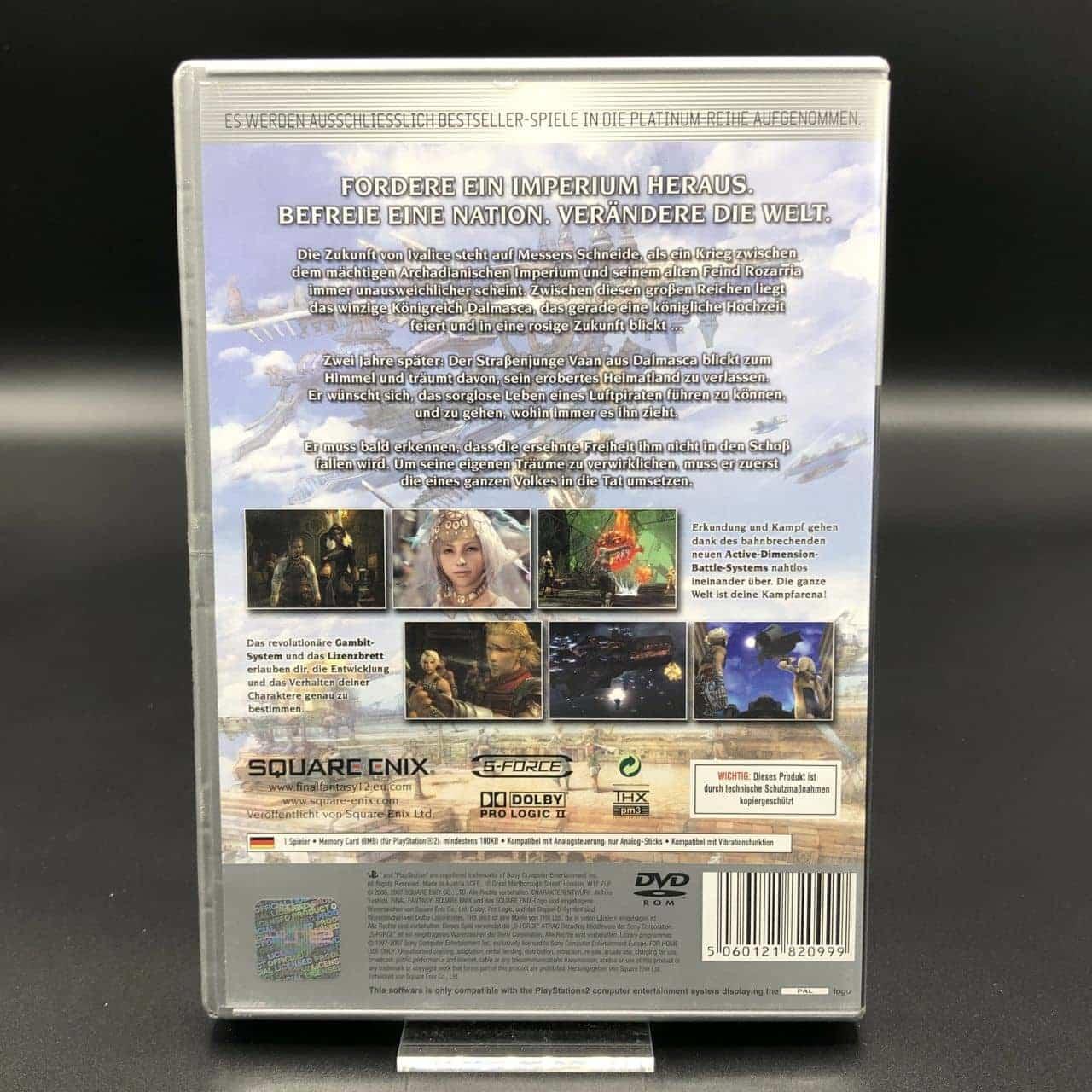 PS2 Final Fantasy XII (Zweitauflage) (Komplett) (Sehr gut) Sony PlayStation 2