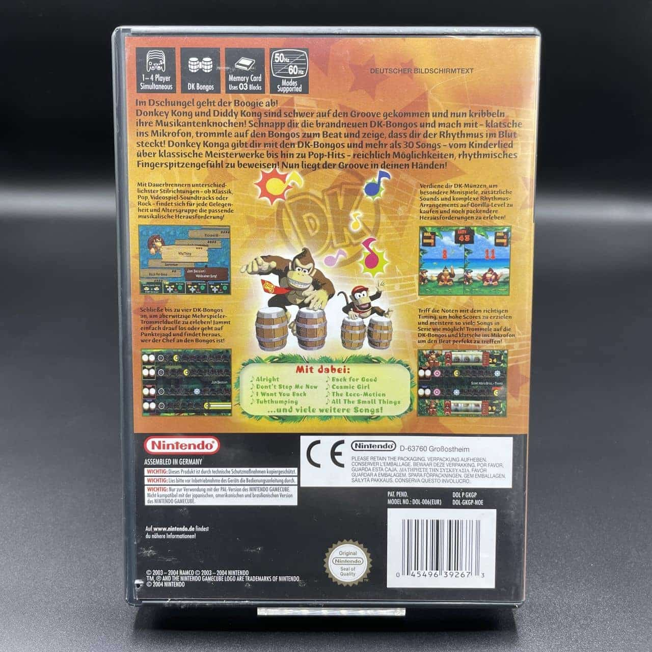 GC Donkey Konga (Komplett) (Sehr gut) Nintendo GameCube