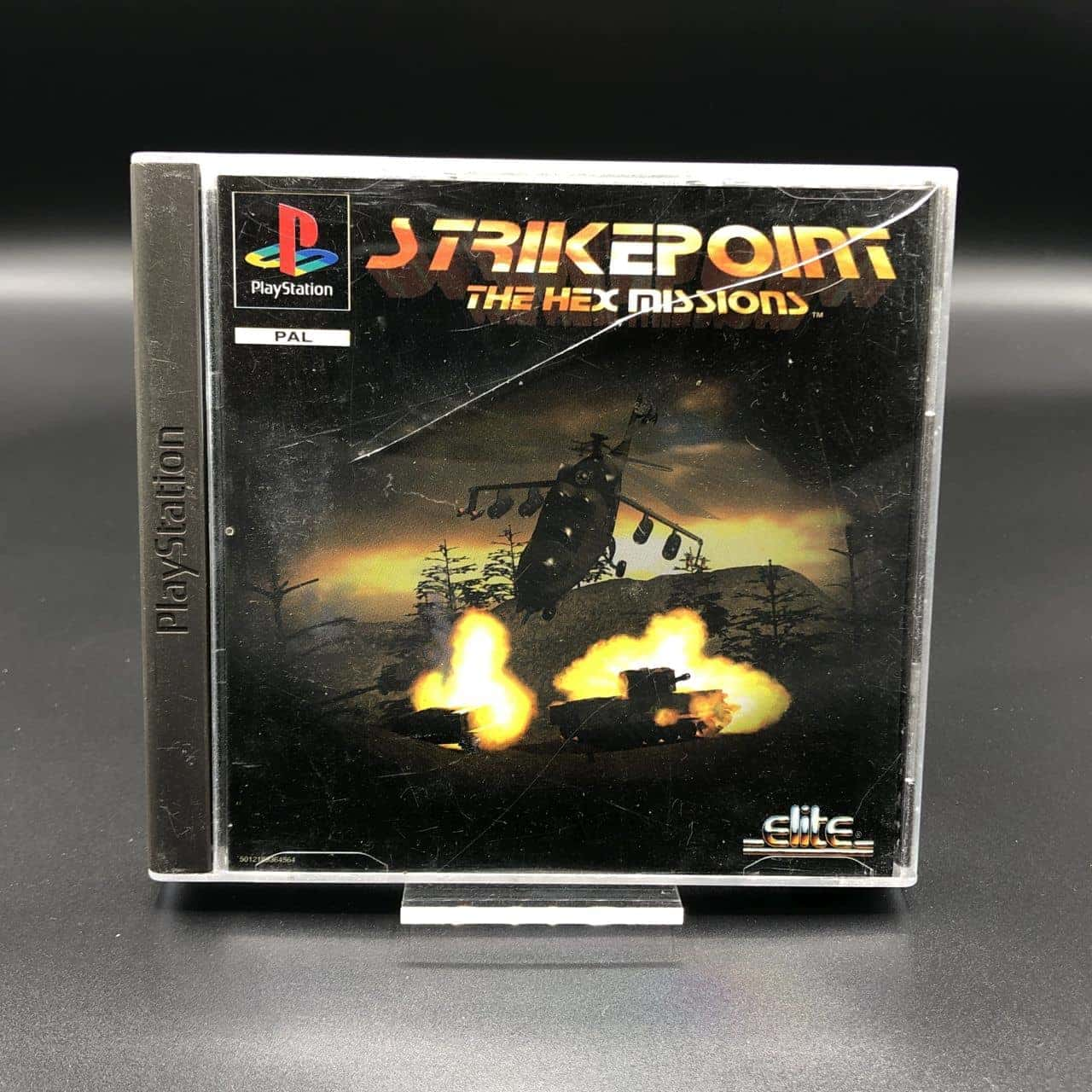 PS1 StrikePoint - The Hex Missions (Komplett) (Sehr gut) Sony PlayStation 1