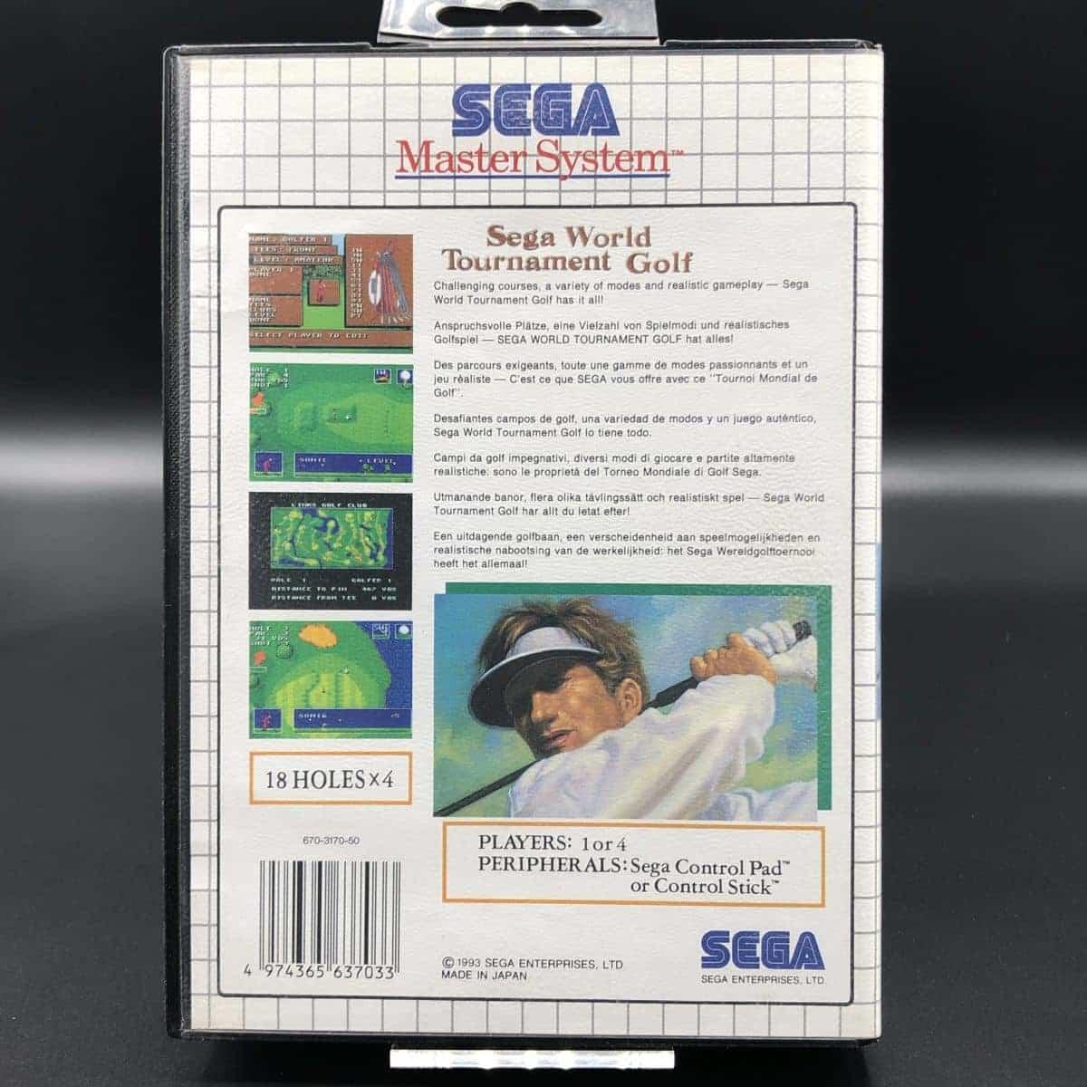 Sega World Tournament Golf (Komplett) (Sehr gut) Sega Master System