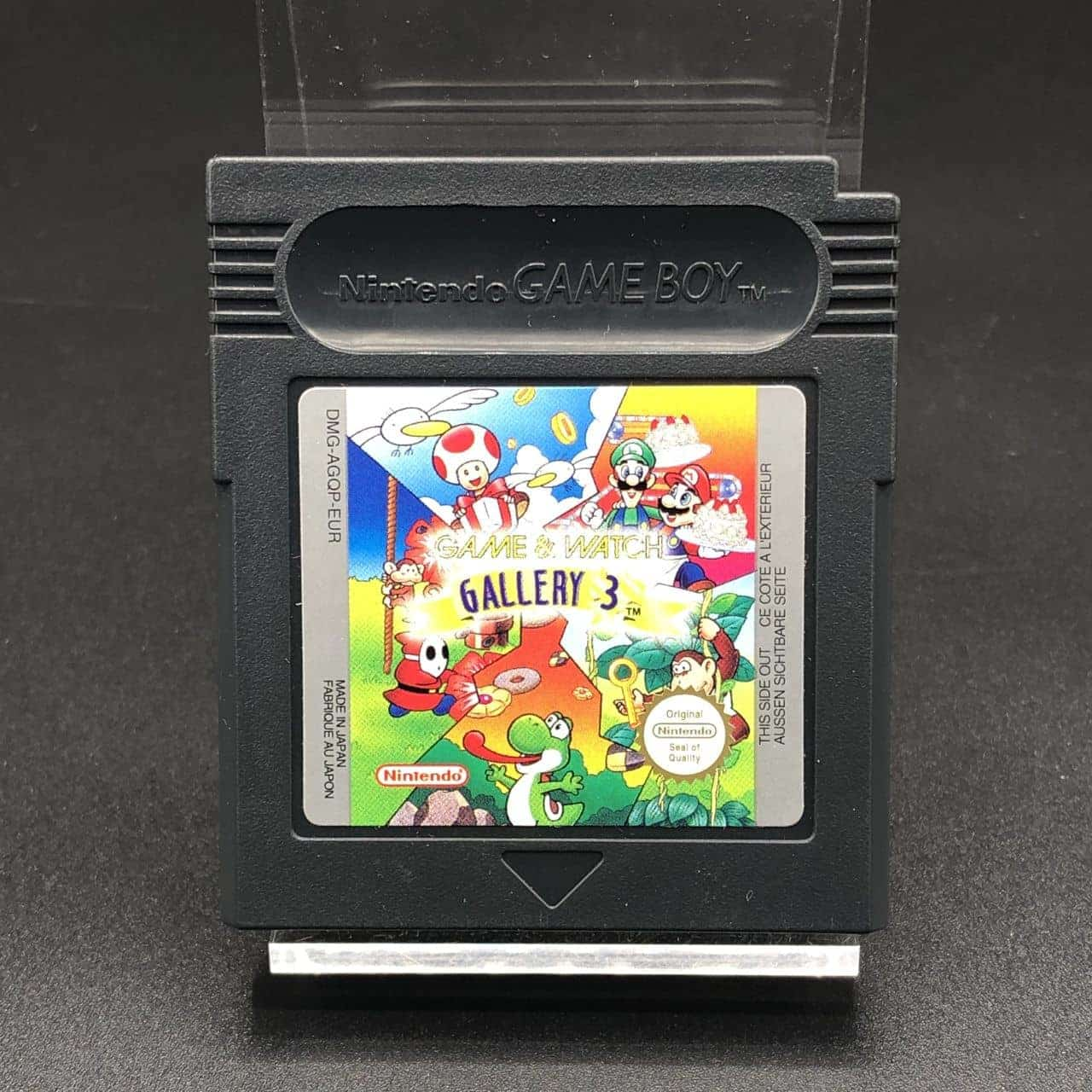 GBC Game & Watch Gallery 3 (Modul) (Sehr gut) Nintendo Game Boy Color