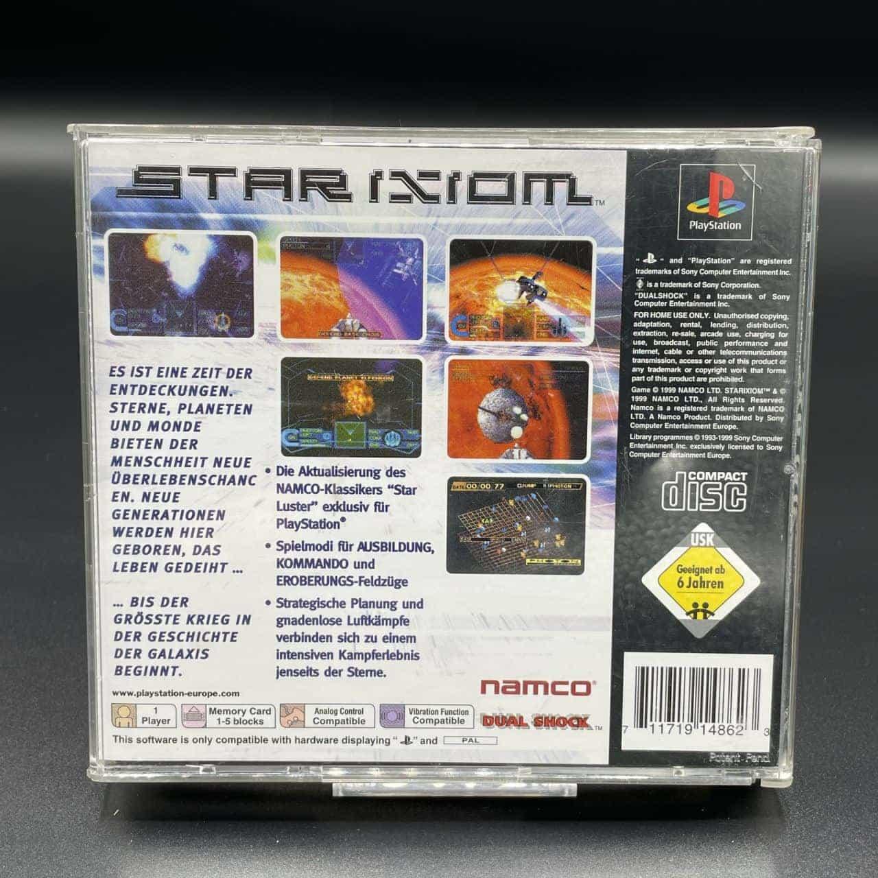 PS1 Star Ixiom (Komplett) (Gebrauchsspuren) Sony PlayStation 1