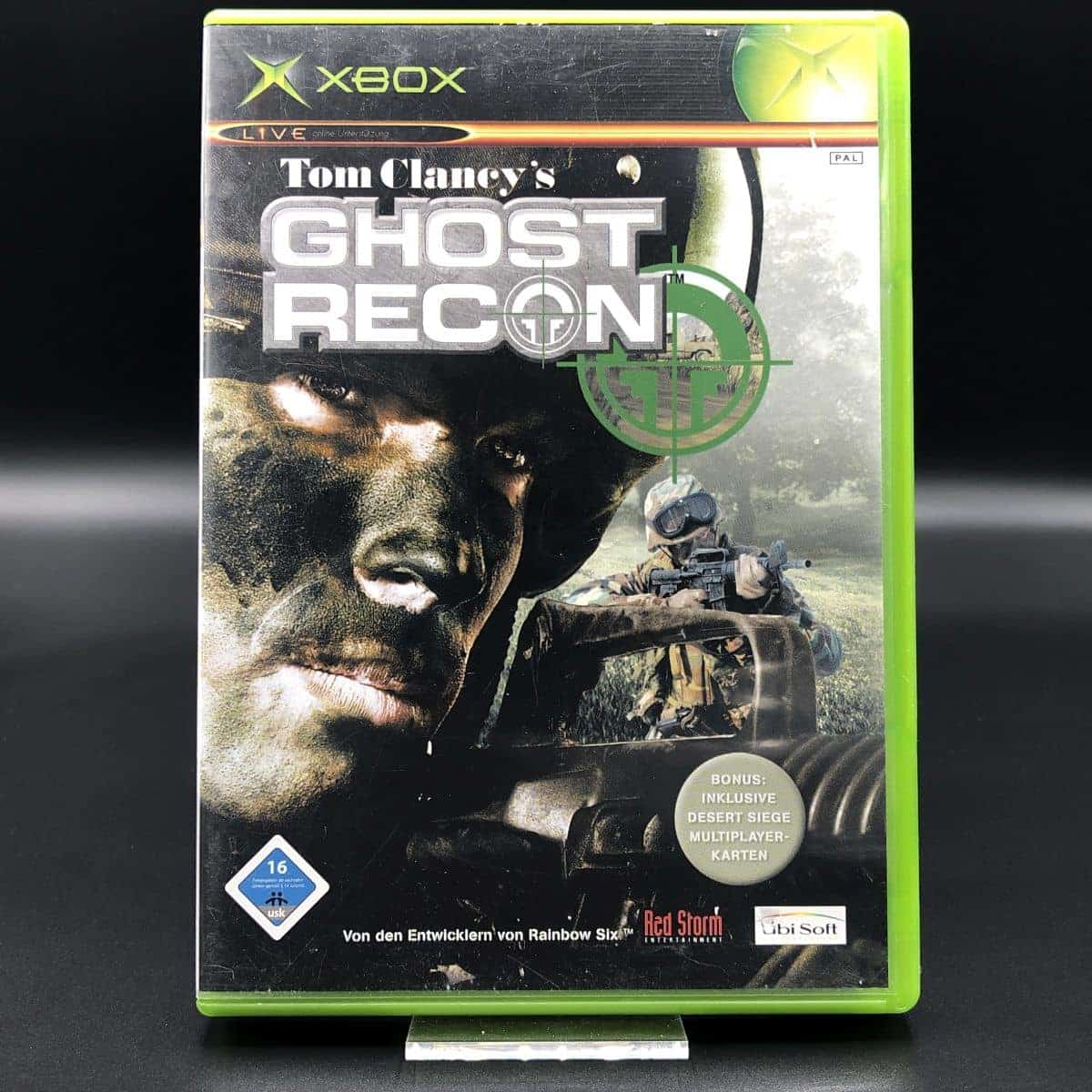 XBC Tom Clancy's Ghost Recon (Komplett) (Gebrauchsspuren) Microsoft Xbox Classic