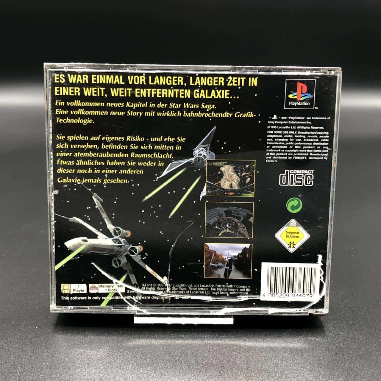 PS1 Star Wars - Rebel Assault II - The Hidden Empire (Komplett) (Sehr gut) Sony PlayStation 1 #1