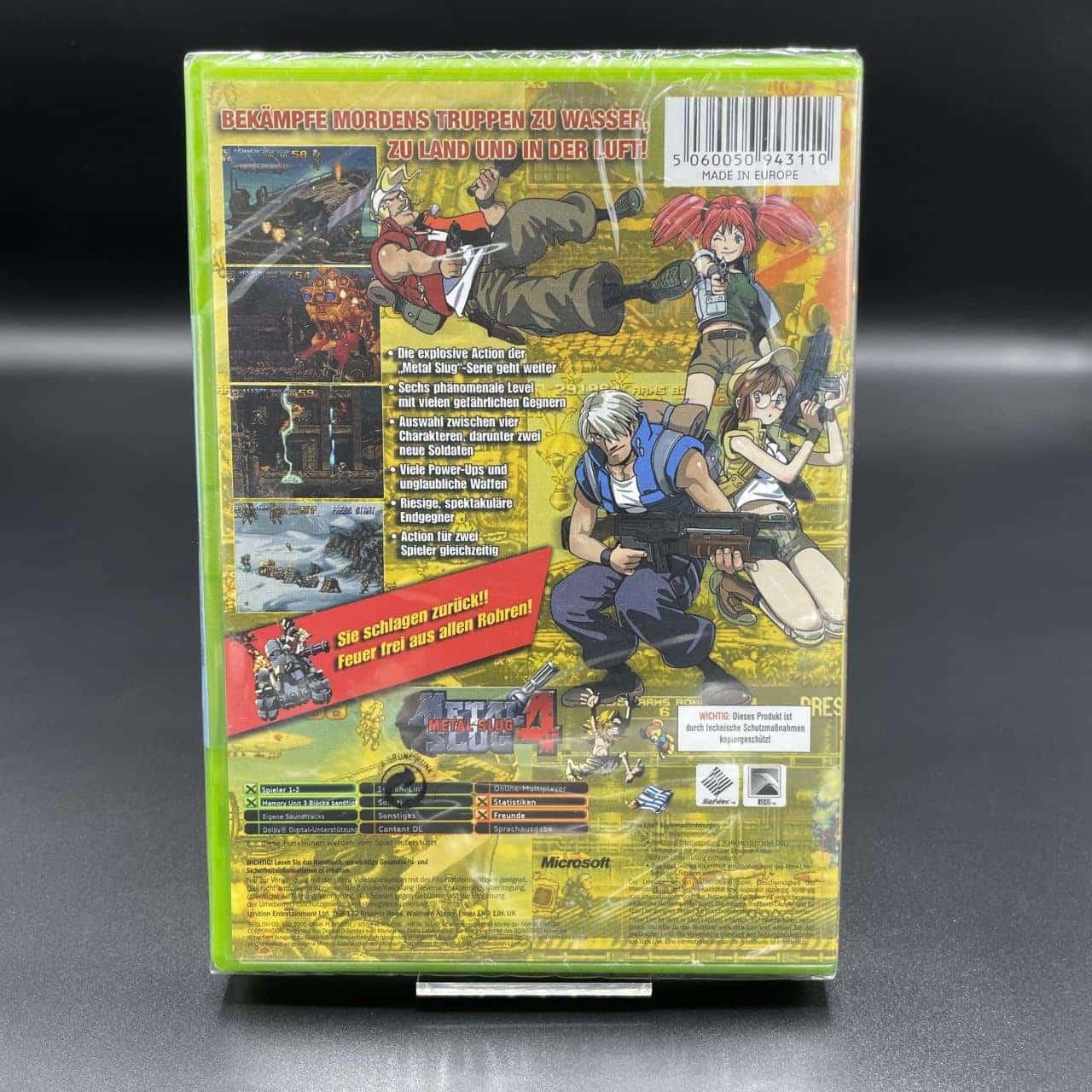XBC Metal Slug 4 (NEU) Microsoft Xbox Classic