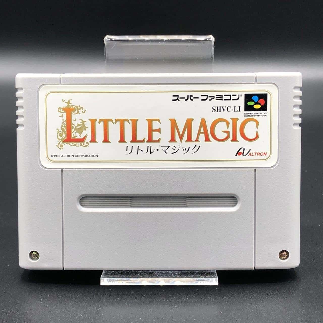 SNES Little Magic (Import) (Komplett) (Sehr gut) Super Nintendo