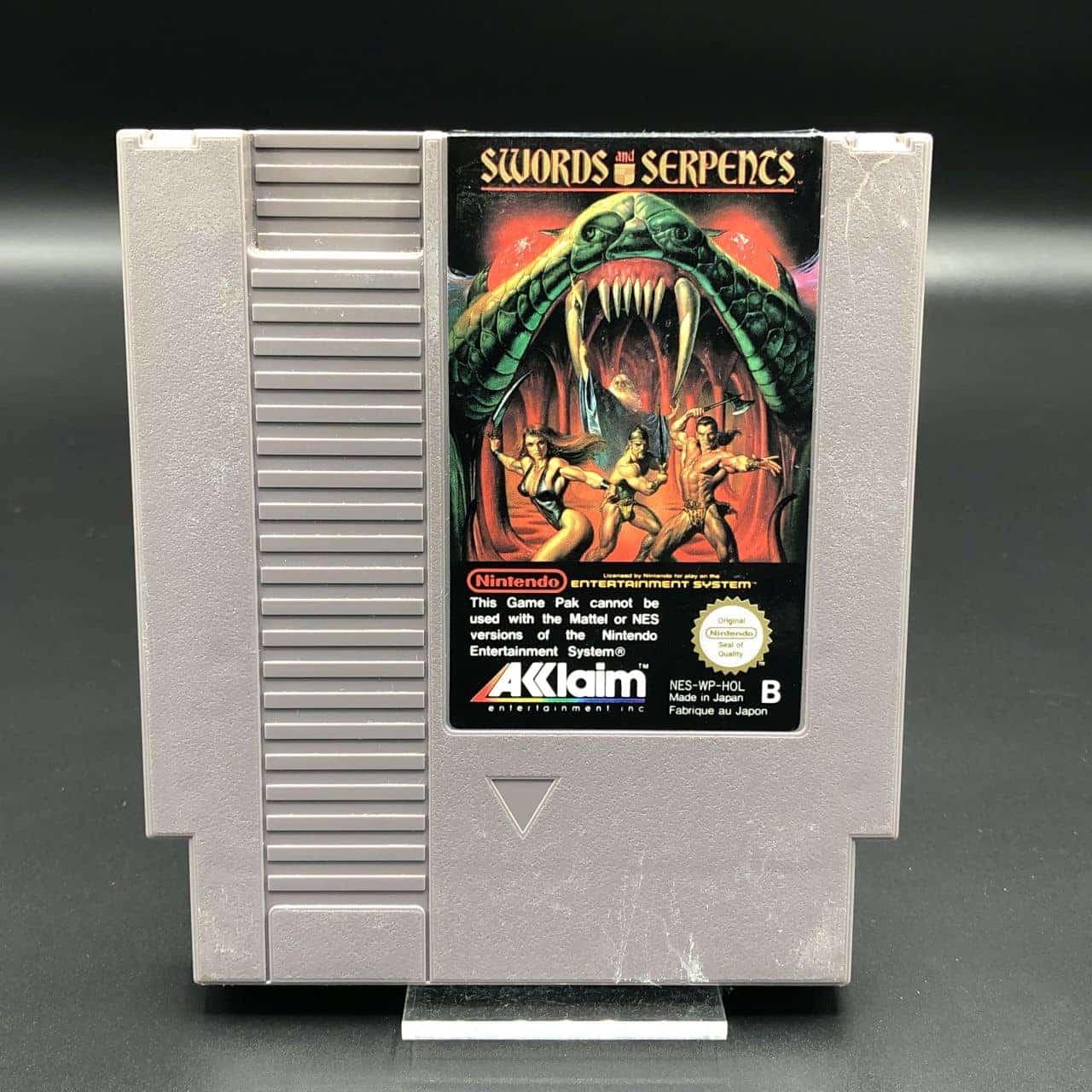 NES Swords and Serpents (Modul) (Gut) Nintendo Entertainment System