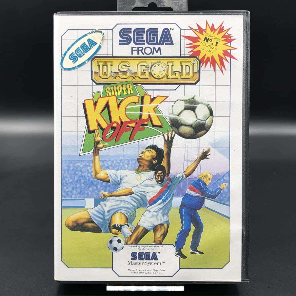 Super Kick-Off (Komplett) (Sehr gut) Sega Master System