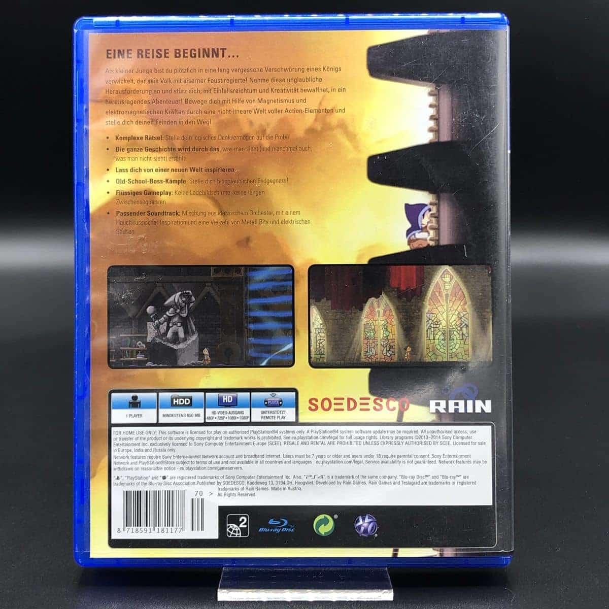 PS4 Teslagrad (Sehr gut) Sony PlayStation 4