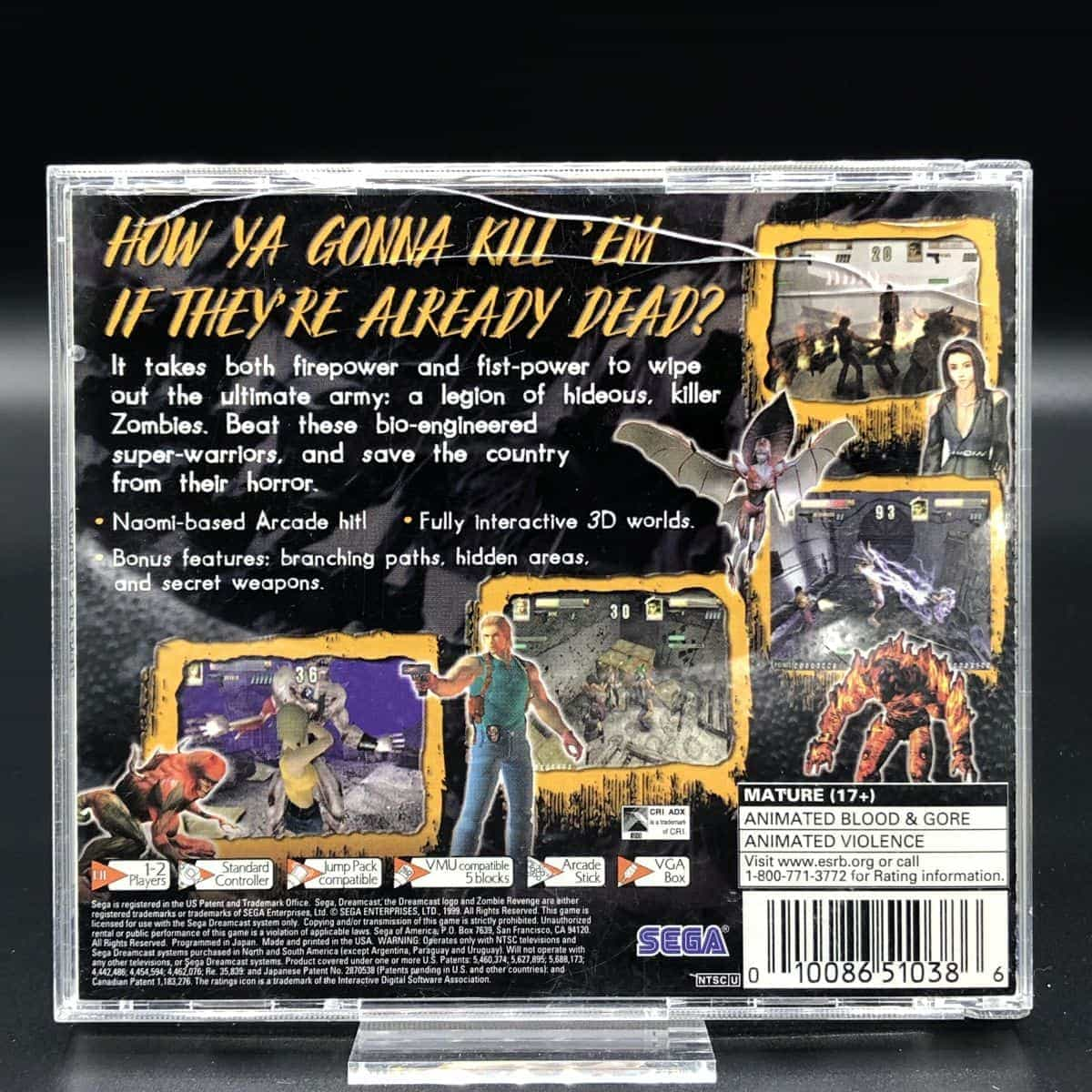 Zombie Revenge (Import) (Komplett) (Sehr gut) Sega Dreamcast