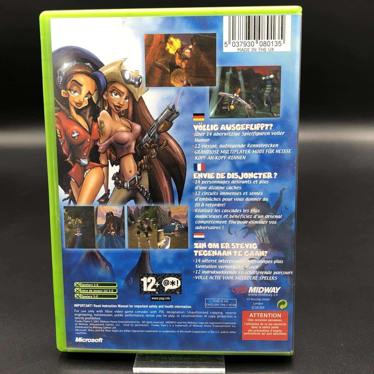 XBC Freaky Flyers (Komplett) (Sehr gut) Microsoft Xbox Classic