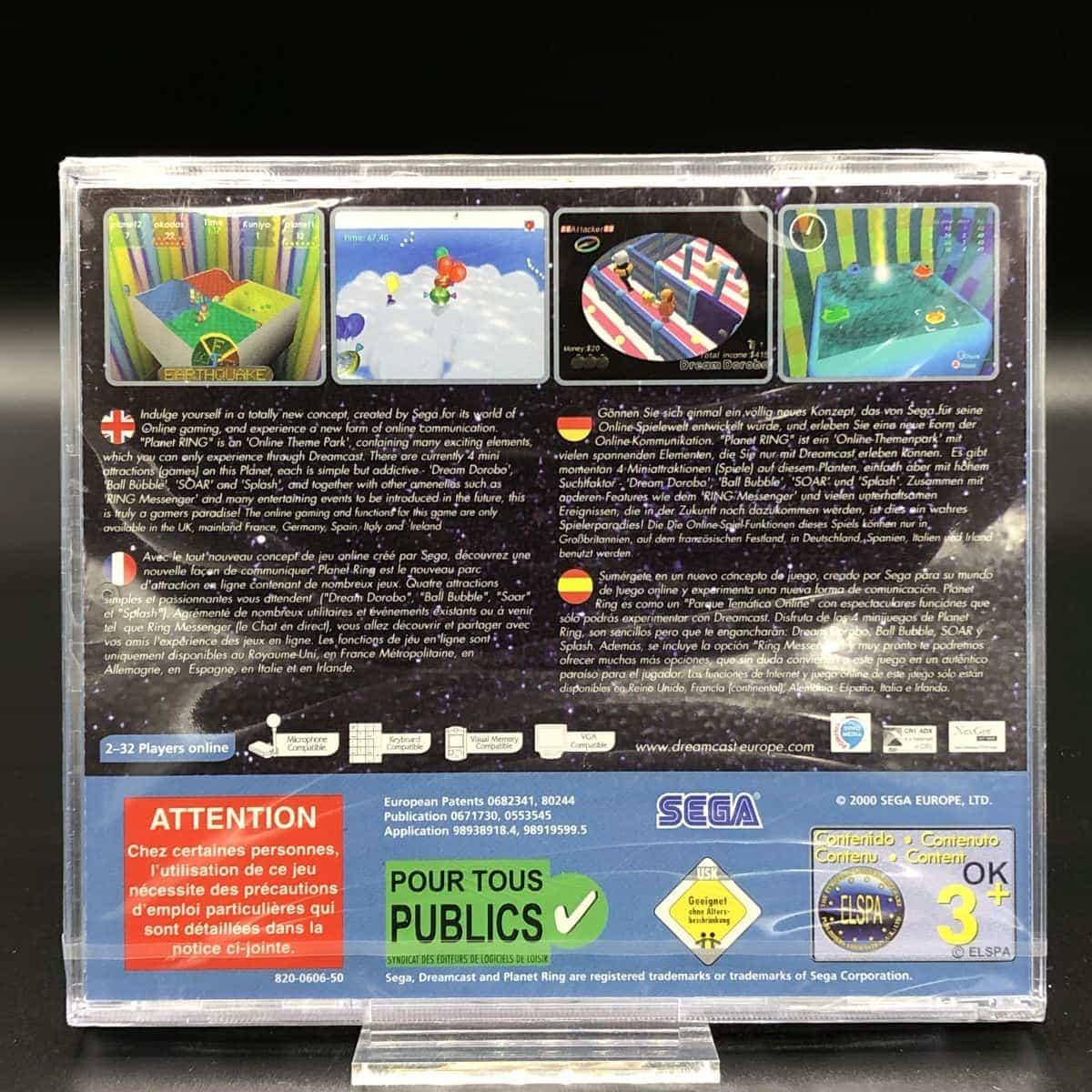 Planet Ring (NEU) Sega Dreamcast