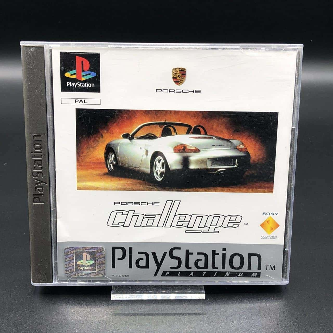 PS1 Porsche Challenge (Platinum) (Komplett) (Sehr gut) Sony PlayStation 1