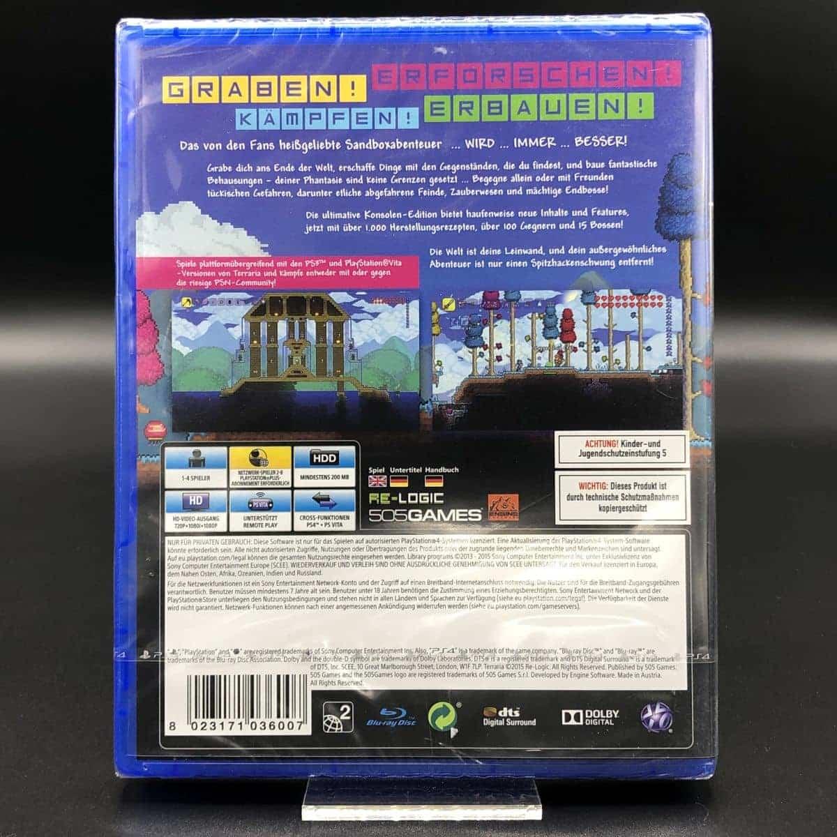 PS4 Terraria (NEU) Sony PlayStation 4