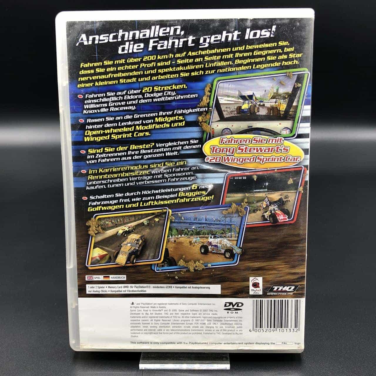 PS2 Sprint Cars: Road to Knoxville (Komplett) (Gebrauchsspuren) Sony PlayStation 2