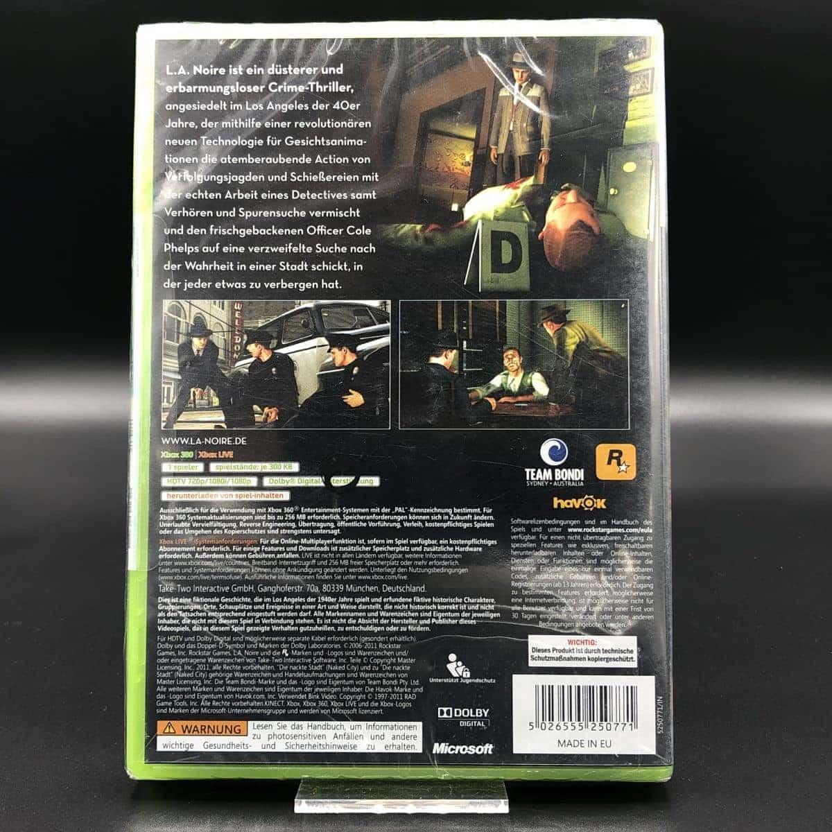 L.A. Noire (NEU) XBOX 360