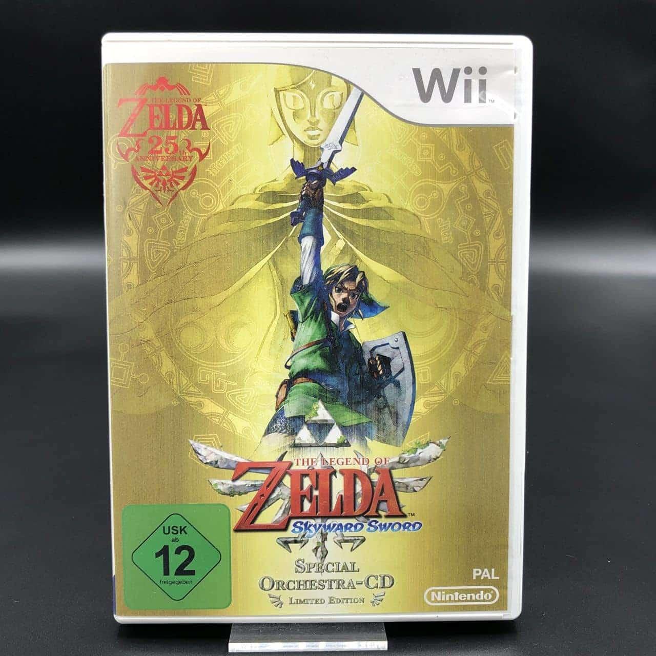 The Legend of Zelda: Skyward Sword + Special Orchestra CD (Limited Edition) (Komplett) (Sehr gut) Nintendo Wii