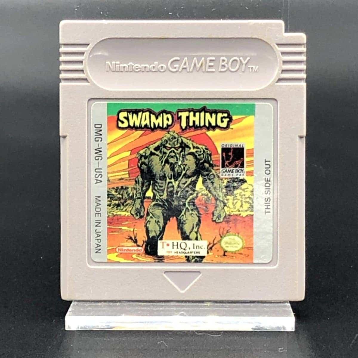 GB Swamp Thing (Modul) (Gut) Nintendo Game Boy