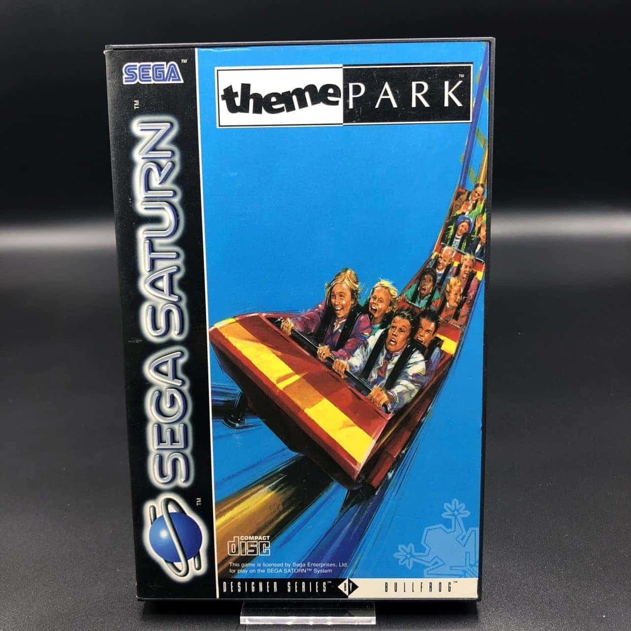 Theme Park (ohne Anleitung) (Sehr gut) Sega Saturn
