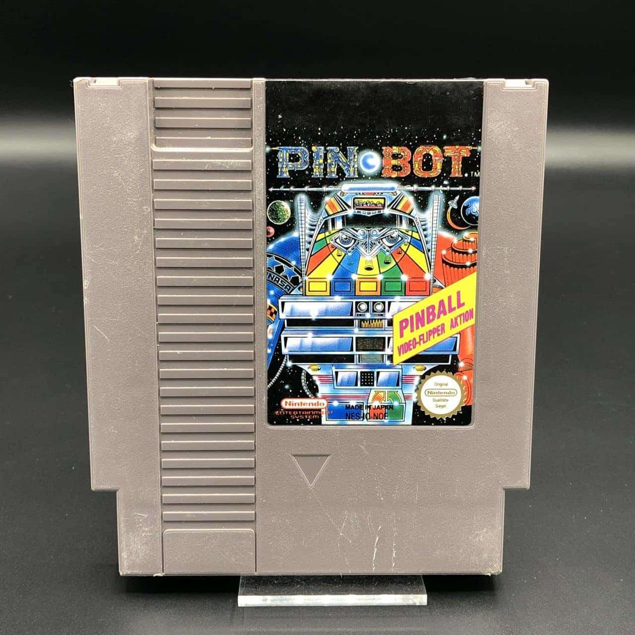 NES Pin Bot (Modul) (Gebrauchsspuren) Nintendo Entertainment System