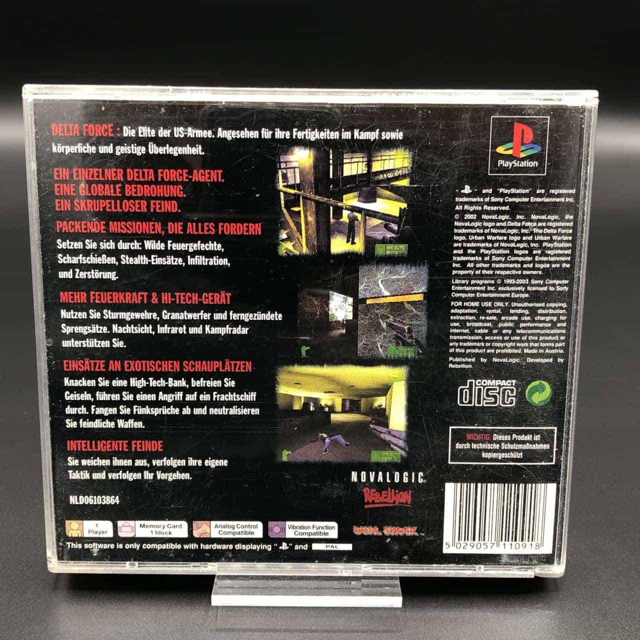 PS1 Delta Force: Urban Warfare (Komplett) (Gut) Sony PlayStation 1