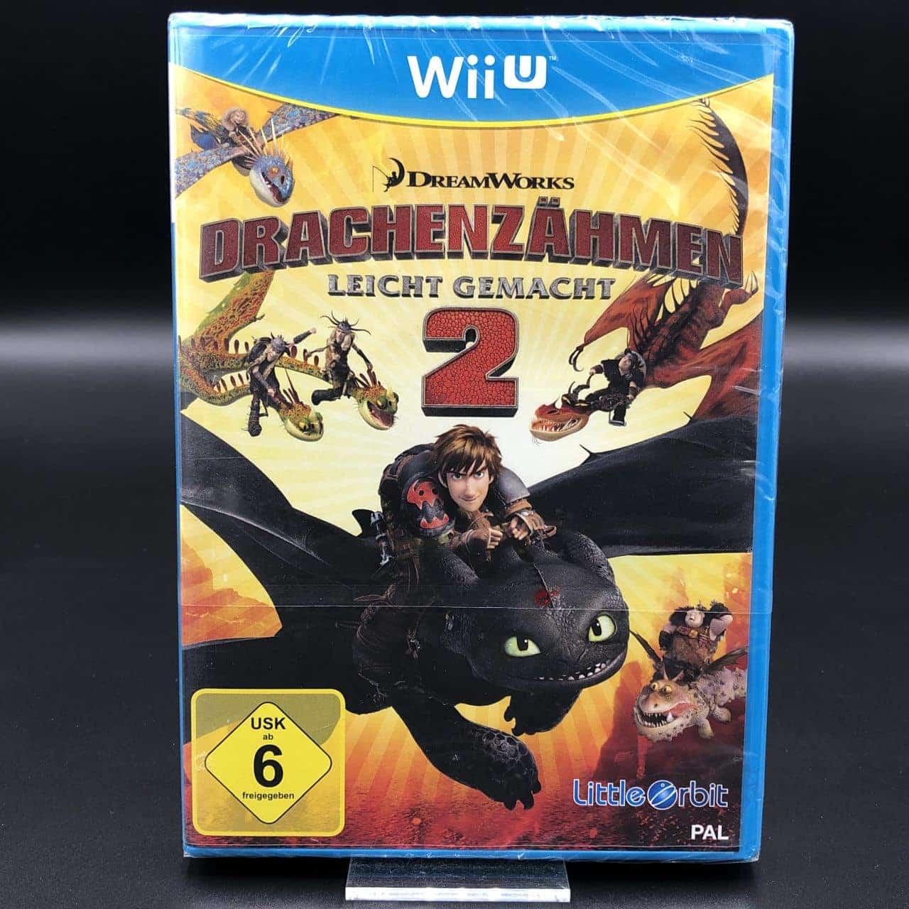 Drachenzähmen leicht gemacht 2 (NEU) Nintendo WiiU