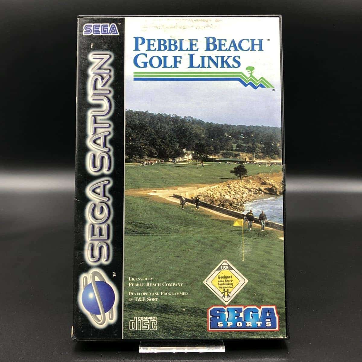 Pebble Beach Golf Links (Komplett) (Gut) Sega Saturn